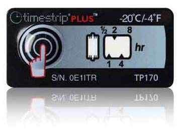(-20°C/-4°F) 8h - Timestrip PLUS TP-170