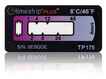 (10°C/50°F) 48h - Timestrip PLUS TP-176