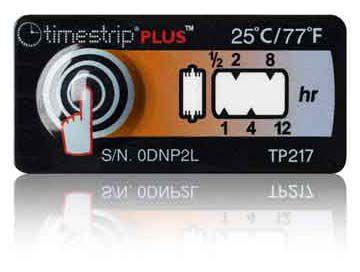 (25°C/77°F) 12h - Timestrip PLUS TP-217