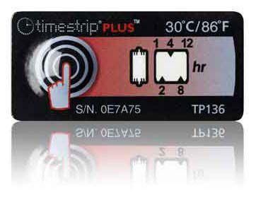 (30°C/86°F) 12h - Timestrip PLUS TP-136