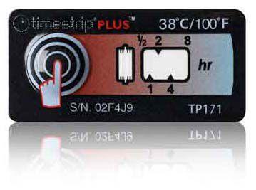 (38°C/100°F) 8h - Timestrip PLUS TP-171