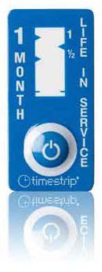 (1 mês) validade de produtos - Timestrip Life in Service TS-201