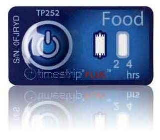 (5°C/41°F) 4h - Timestrip Food TP-252