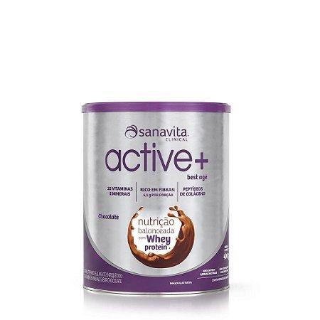 ACTIVE + BEST AGE SABOR CHOCOLATE 400G - SANAVITA