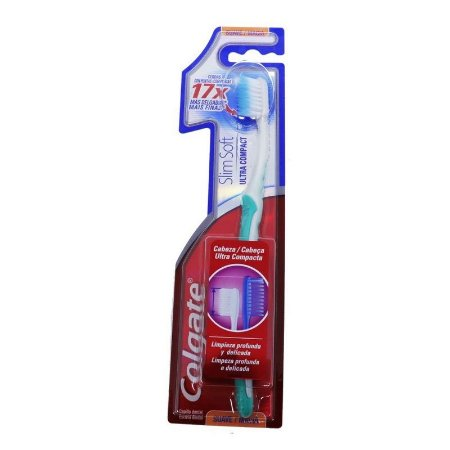 ESCOVA DENTAL ULTRA COMPACTA MACIA ADULTO - COLGATE