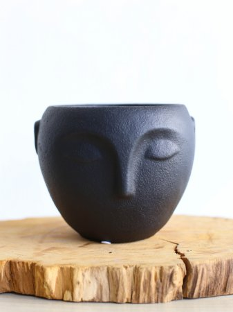 Cachepot linha Faces Cônico | Pote Pequeno