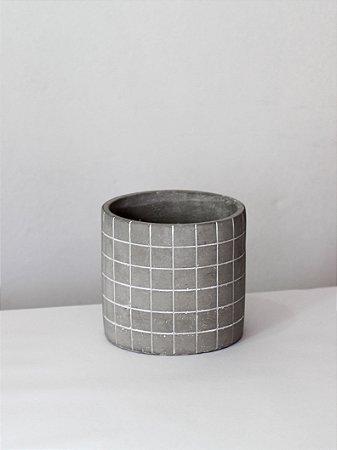 Cachepot linha Grid   Pote Pequeno