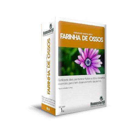 Farinha de Osso   Fertilizante Mineral Simples 1Kg
