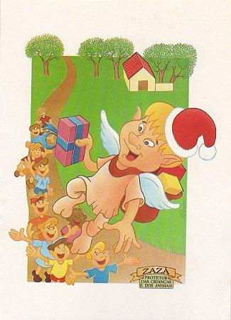 Cartão postal duende Zazá