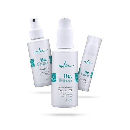 Kit Be.Face - Cleansing Oil + Acqua Mist + Serum Facial