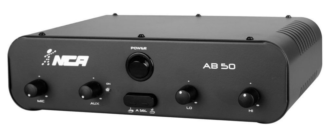 Amplificador Compacto NCA linha AB50/SA50