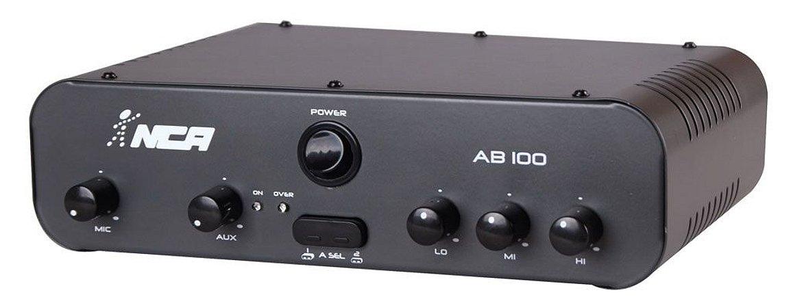 Amplificador Compacto NCA linha AB100/SA100
