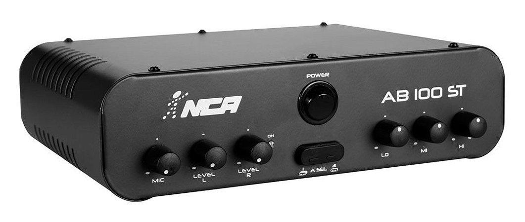 Amplificador Compacto NCA linha AB100 STEREO