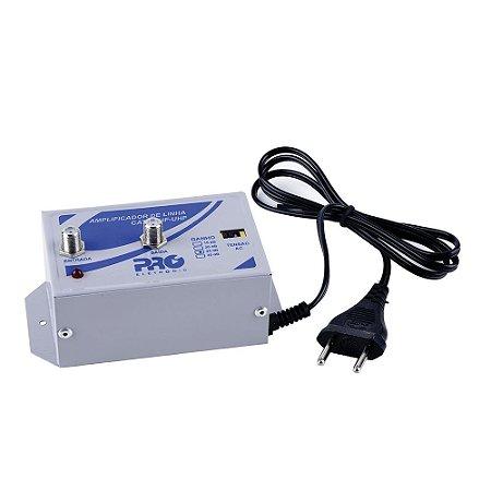 Amplificador de linha 30db PRÓ-ELETRONIC PQAL-3000 SINAL DIGITAL