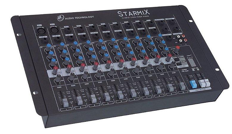 Mesa de Som 10 Canais STARMIX S-1002D