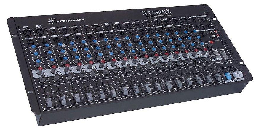 Mesa de Som 16 Canais STARMIX S-1602D