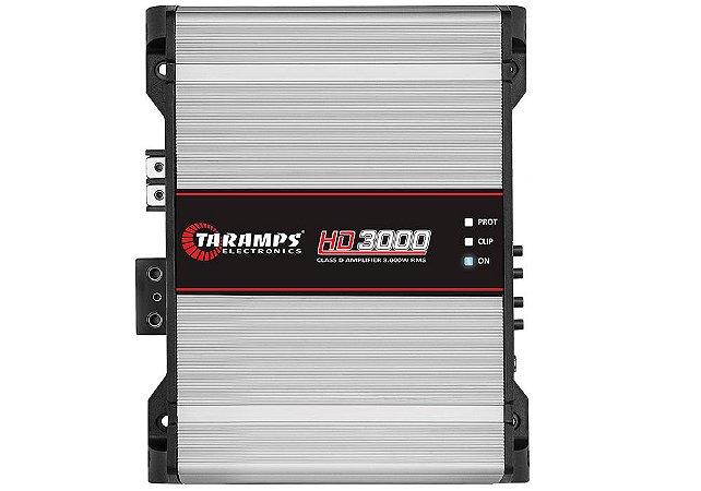 Módulo Amplificador TARAMPS HD 3000 Classe D 1 Canal 3000W RMS 1 ou 2 OHMS