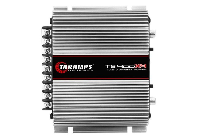 Módulo Amplificador TARAMPS TS400 Classe D 4 canais 100W RMS