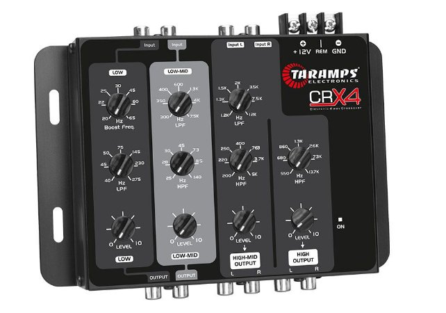 Crossover TARAMPS CRX4 4 VIAS