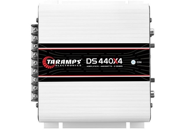 Módulo Amplificador TARAMPS DS 440x4 Classe D 440 watts 4 Canais 110W RMS