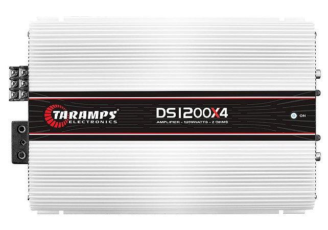 Módulo Amplificador TARAMPS DS 1200x4 Classe D 1200 watts 4 Canais 300W RMS
