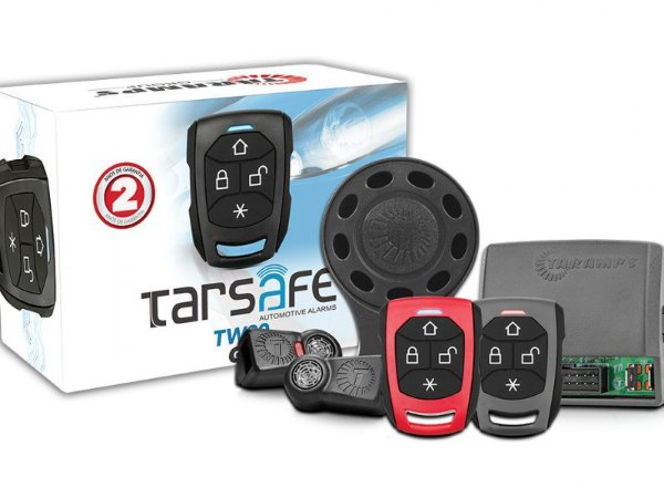 Alarme Automotivo TARAMPS TW 20 G4 TARSAFE SIRENE S/ FIO