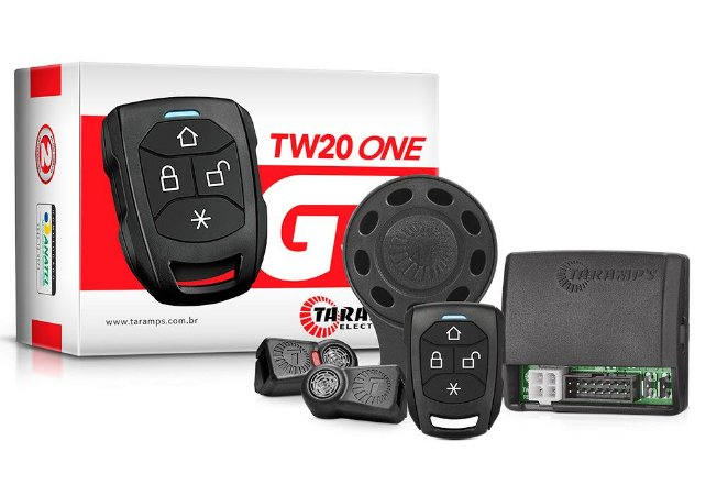 Alarme Automotivo TARAMPS TW 20 G3 ONE 01 CONTROLE