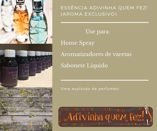 Essência Adivinha quem Fez (aroma exclusivo) - 100ml