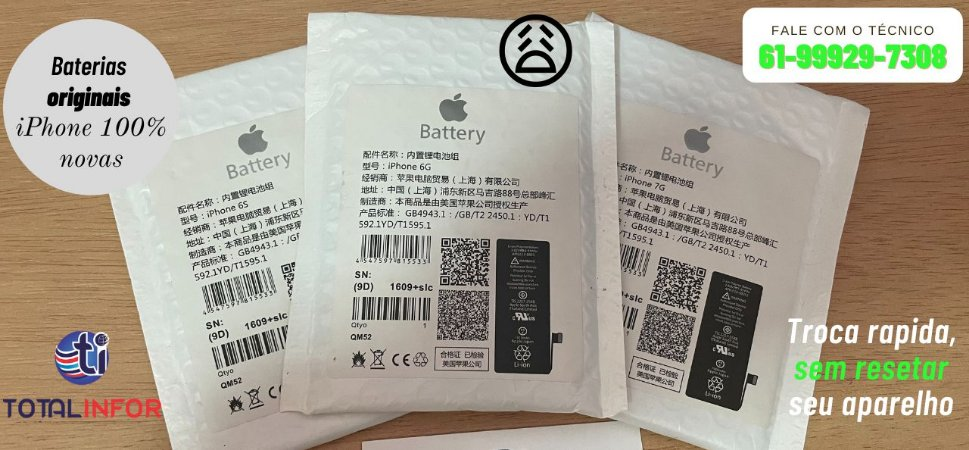 Bateria Original iPhone 6 ou 6s