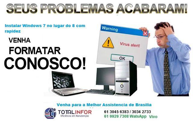Assistência Técnica Dell em Brasilia | ORÇAMENTO RAPIDO - Notebook Desktop All In One PC