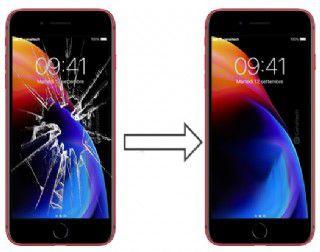 Tela iPhone 8 Plus Original - Vidro trocado - Serviço Instalação Incluso