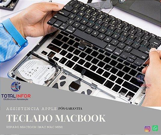 Teclado macbook - Teclado falhando ou faltando teclas? Total Infor pode te ajudar