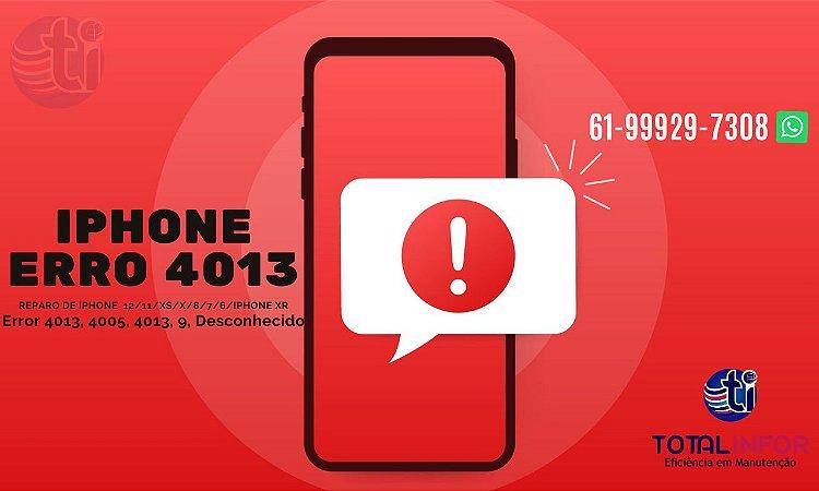 Error 4013, 4005, 4013 - Restaurar iPhone 11/XS/X/8/7/6/iPhone Xr