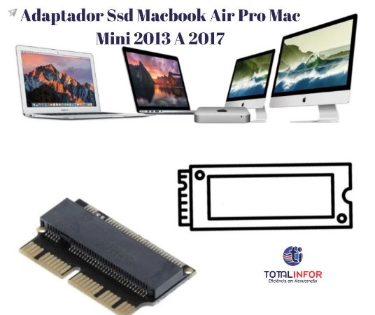 Adaptador macbook Air 2013 a 2017  - MacBook pro 1502 MacBook pro 1398