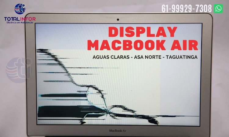 Tela Display Lcd 13.3 Macbook Air A1466 2013 a 2017 Só display montado