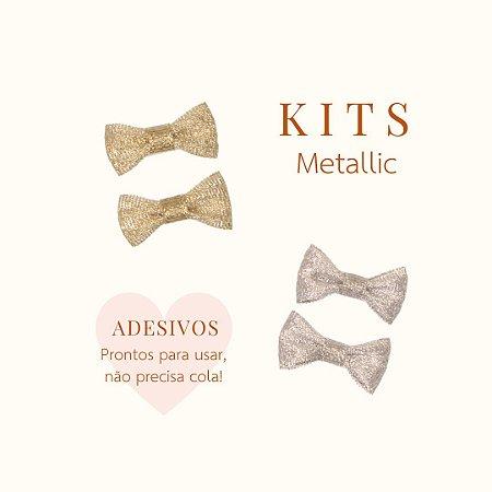 Adesivo Laço RN Classic Metallic (Kit 2) - 2 Cores