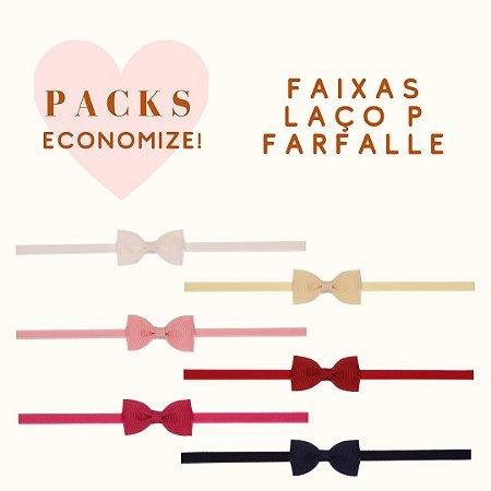 Packs de Modelos com Faixa de Laço P Farfalle (Original)
