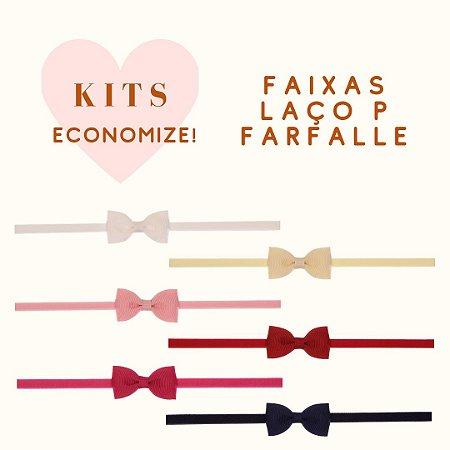 Kit de Modelos com Faixa de Laço P Farfalle - 01 Unidade de Cada (Original)