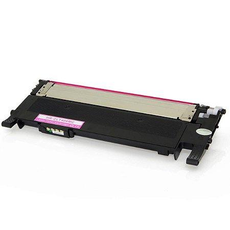 Compatível: Toner Samsung CLT K406S   CLX 3305W Magenta 1k Evolut