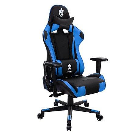 Cadeira Gamer Tanker Azul EG-900 Evolut