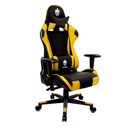Cadeira Gamer Tanker Amarela EG-900 Evolut