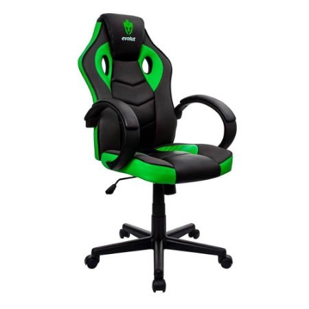 Cadeira Gamer Hunter Verde EG-901 Evolut