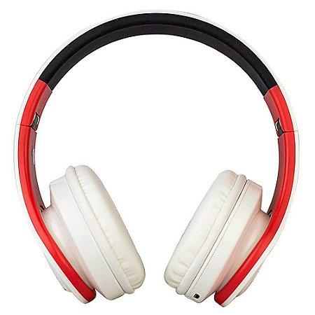 Headphone Bluetooth EO-602 Branco Evolut