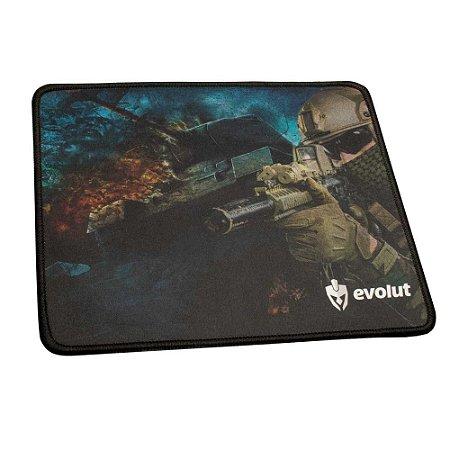 Mouse Pad Gamer Pequeno FPS EG-401 Evolut