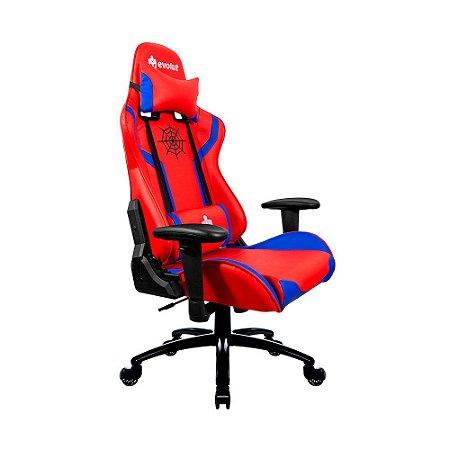 Cadeira Gamer Heroes EG-920 Vermelho Evolut