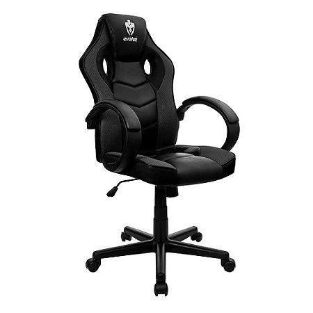 Cadeira Gamer Hunter Preto EG-901 Evolut