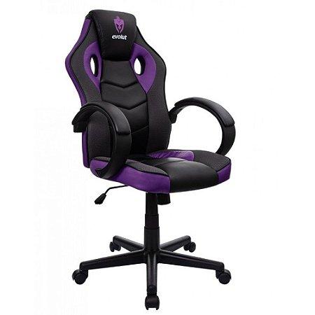 Cadeira Gamer Hunter Roxa EG-901 Evolut