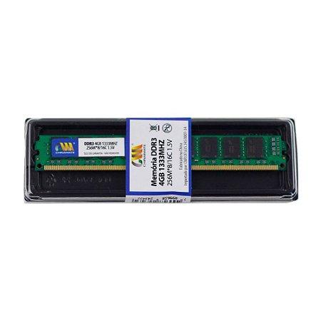 Memória Desktop 4GB DDR3 1333MHz Chinamate