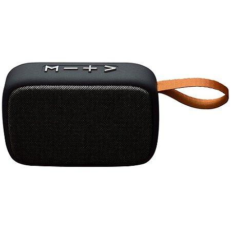 Caixa de Som EO650 Sem Fio/Bluetooth Preta Evolut