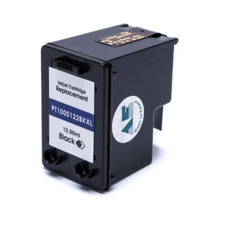 Compatível: Cartucho de Tinta HP 122XL Black 12ml Microjet